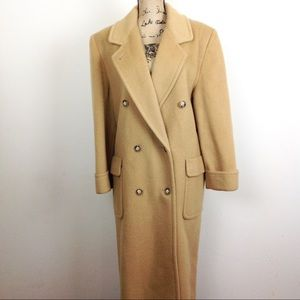 Halston Wool Mohair Woman's Dress Coat 1X